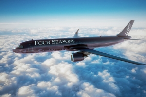 Four Seasons Hotels and Resorts announces new private jet