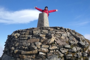 Holiday Inn Dumfries GM climbs Three Peaks for children's charity
