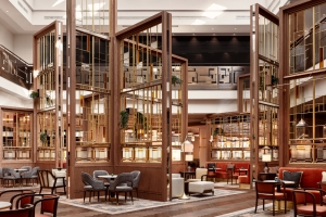 Inspired by the grandeur of the historic cityscape, Goddard Littlefair transforms Hilton Vienna Park Hotel