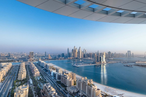 Aura: The world's first & highest 360-degree infinity pool set to open on Dubai's Palm Jumeirah