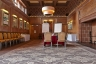 The carpet pays homage to Lutyens at Abbey House Hotel