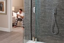 Controlling water with digital showers