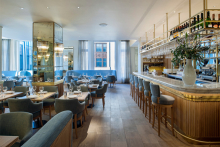The Corner Restaurant & Champagne Bar, Selfridges, London