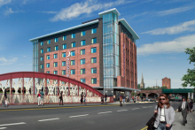 Premier Inn to operate hotel at Salford's New Bailey development