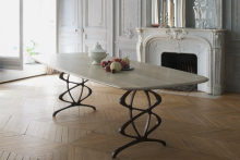 A new look for Tom Faulkner's Vienna dining table