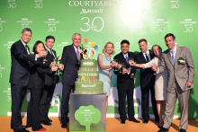 Courtyard by Marriott marks 30 years of success with global celebration
