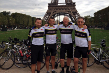 Industry members ride to victory in HA's London to Paris Cycle Challenge