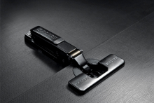 Salice expands its offering with sleek titanium finishes
