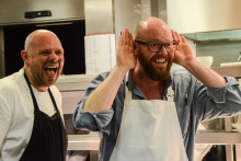 Renowned chefs host festive feast for Hospitality Action