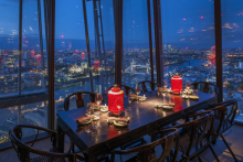 Into brings light to The Shard restaurants