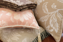 Add an instant dash of opulence with Northcroft Fabrics