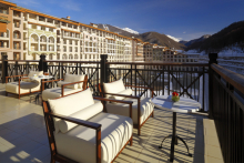Marriott International opens five-star hotel at Sochi ski resort