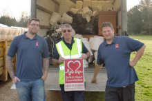 Down Hall Country House Hotel donates to British Heart Foundation