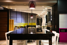 Formica laminate brings a fresh look to French hotel