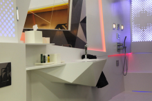Laufen's futuristic bathroom design