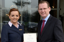 Employee of the Year named at Luton Hoo Hotel, Bedfordshire