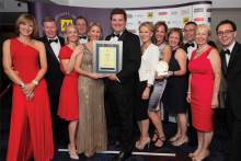 Dormy House named AA Hotel of the Year 2014-15