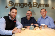 MarconFit-Out enjoys the adventures of Synge & Byrne in Londonderry