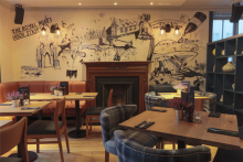 Edinburgh bar and restaurant uncovers new interior