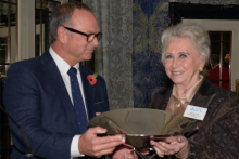 Industry salutes Margaret Miller, chairman of Knightsbridge Furniture