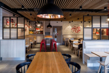 KFC embraces design in dramatic new concept store