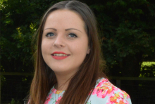 Graduate carves out new career at catering design firm