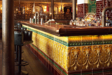 Blues Kitchen revives traditional faience-fronted bars