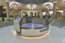 DuPont Corian brings city library into digital age