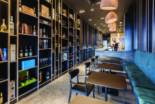 Pedrali furniture selected for stylish bistro