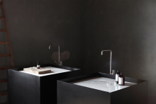 HI-MACS inspires new NotOnlyWhite bathroom collections once again
