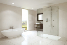 Luxury showering for hotels from Aqata