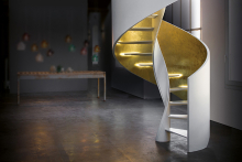 The re-invention of the helical staircase