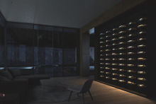 The L182 Wine Rack from MP Lighting
