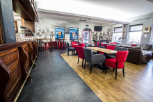 Polyflor gives Cardiff Blues Rugby Club bar a winning new look