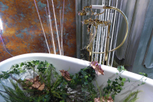 Hansgrohe products used for Sleep's fairytale theme