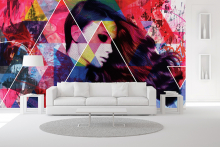 Limited edition wall coverings by Papergraphics