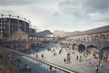 Camden Council approves Heatherwick Studio's plans for mixed-use piazza
