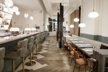 Husband and wife team bring Frenchie to Covent Garden
