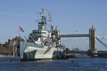 Fifth Tom's Kitchen to launch on HMS Belfast