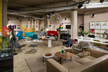 New contracts show space opens at Aram's Covent Garden showroom
