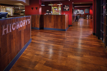 Karndean Designflooring brings the hues of the 'Deep South' to Hickory's Smokehouse