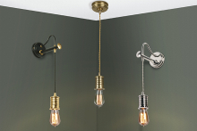 Unusual lighting solutions from Elstead