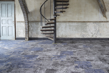 Sophisticated carpet tiles from modulyss