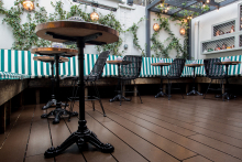 DURATRAC sustainable decking selected for The Groucho Club