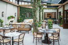 Thonet selected for The Birnam Brasserie at Gleneagles