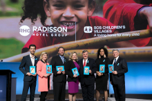 Radisson Hotel Group launches partnership with SOS Children's Villages