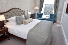 Edinburgh hotel unveils first phase of multi-million pound refurbishment
