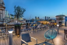 Courthouse Hotel Shoreditch opens sophisticated rooftop bar