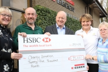 Tynedale employees raise funds to help a range of good causes