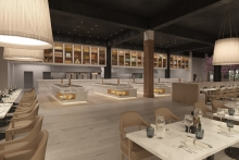 Commercial Kitchen and Bar to work on The Sheridan refurbishment